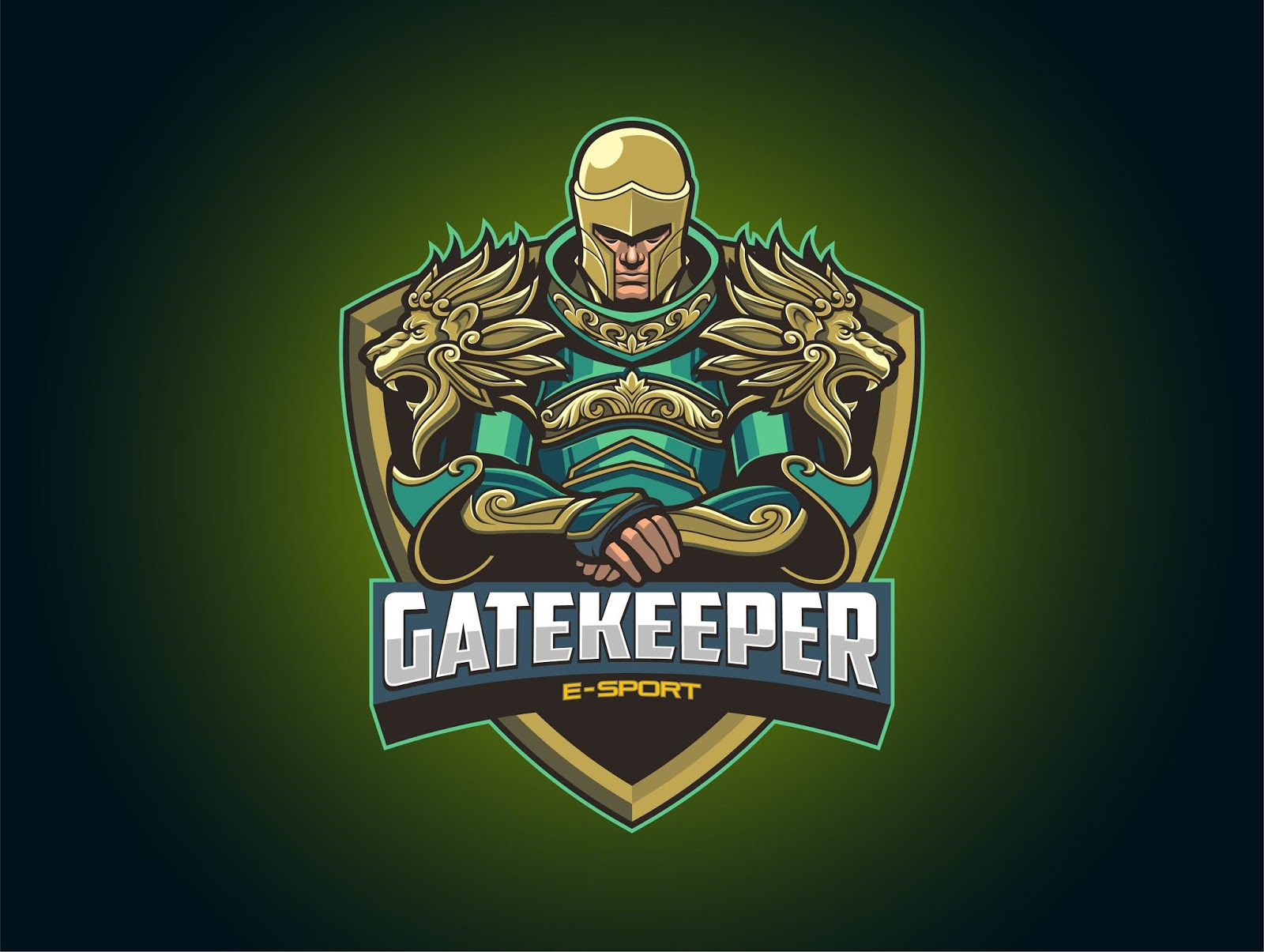Esport Logo Free Download Vector CDR, AI, EPS and PNG Formats