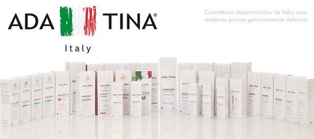 linha de produtos Ada Tina