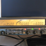 Kenwood TM-742A remote head velcrod to monitor