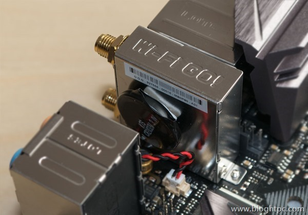 Conectividad de Red Lan e Inalámbrica Asus STRIX Z270i GAMING