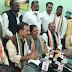 नवागढ़ नगर पंचायत राछा भाठा में  कांग्रेस पार्टी द्वारा एक दिवसीय किसान आंदोलन व धरना प्रदर्शन किया गया