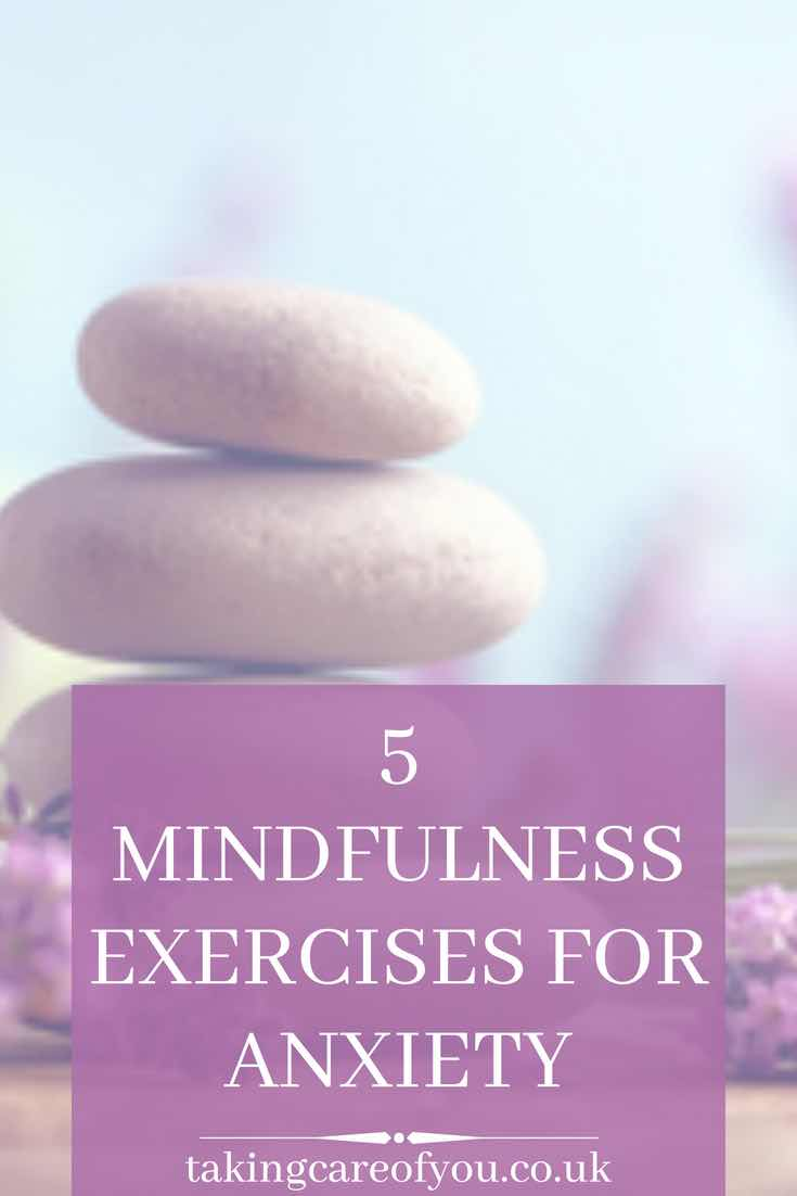 Mindfulness activities for anxiety. Focus your mind and shift away from anxious thoughts with these 5 mindfulness techniques for anxiety. Mindfulness tips | mindfulness practice | mindfulness exercises | anxiety relief | anxiety help #mindfulness #mindfulmondays #anxiety