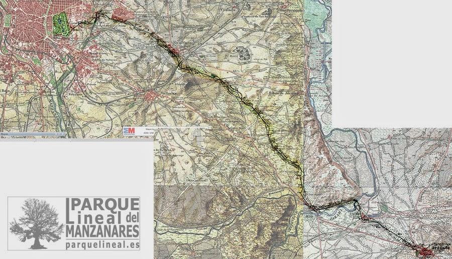 mapa tren de arganda