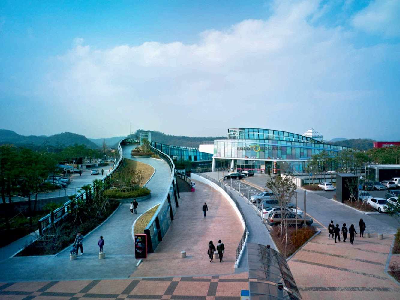 Daegu, Corea del Sud: Color Square Stadium Mall by Jerde