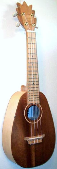 otis johnson pineapple ukulele concert scale