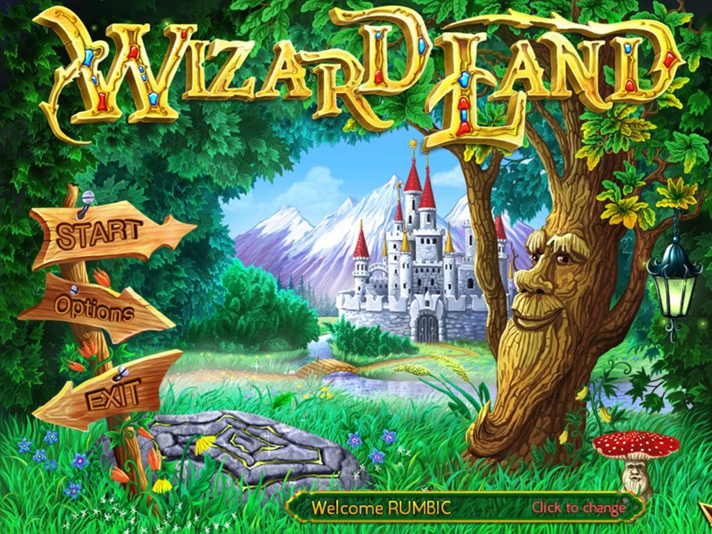 Wizard Land- screenshot