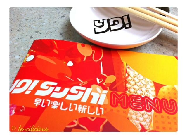 Review: Yo! Sushi Restaurant