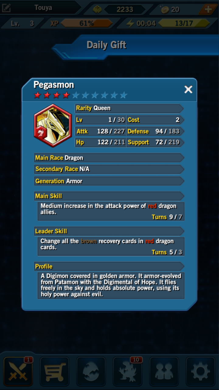 digimon heroes cards