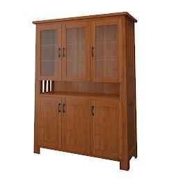 teton china cabinet