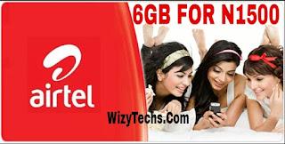 Airtel 6gb for n1500