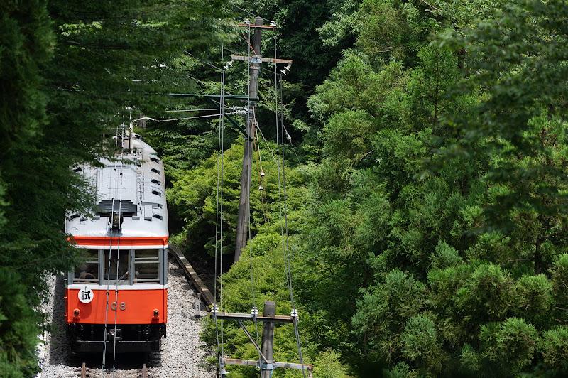 200712 彫刻の森〜小涌谷を走る試運転列車