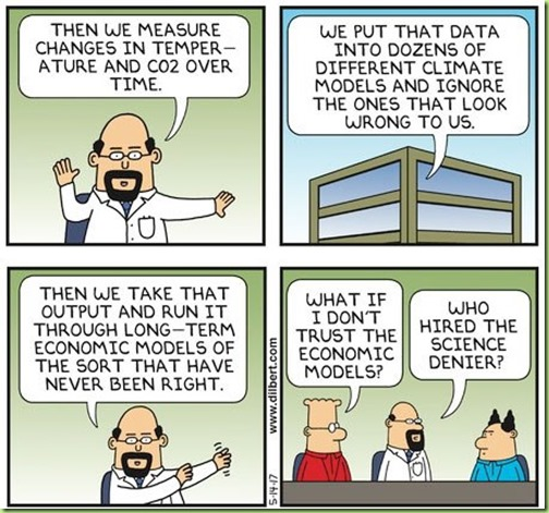 dilbert climate scientist warming