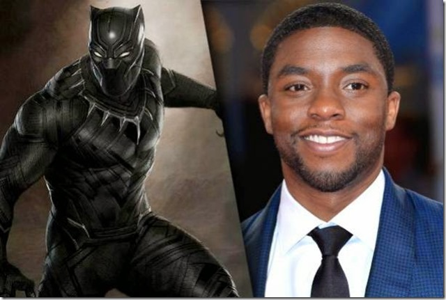 Chadwicj Boseman Black Panther