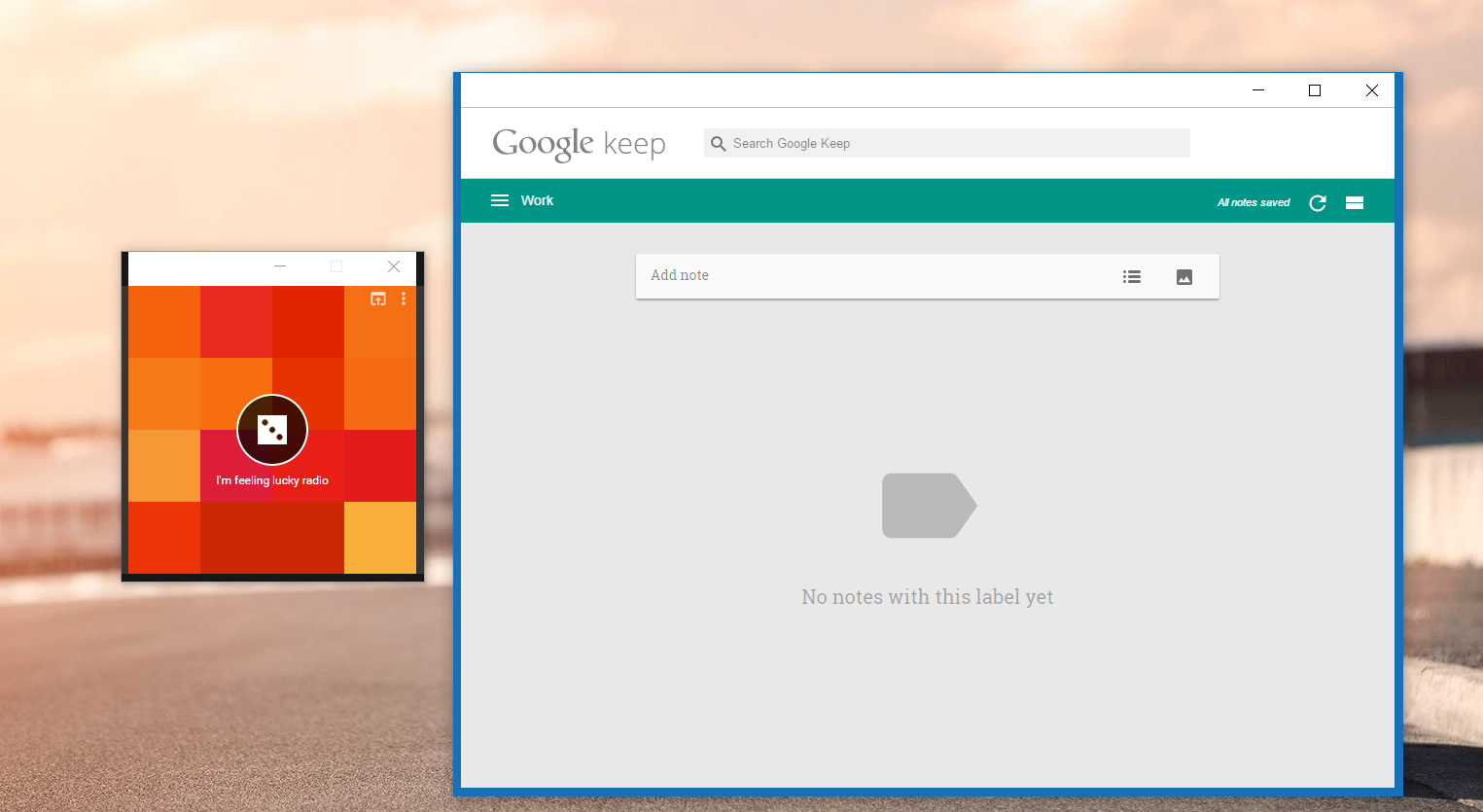 Popout Chrome Apps (keep, google play music) not rendering
