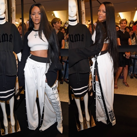 Rihanna's AW16 FENTY x PUMA Collection release