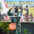 Usai Latihan UST Tingkat Kompi, Yonif 757/Ghupta Vira Laksanakan Serbuan Teritori