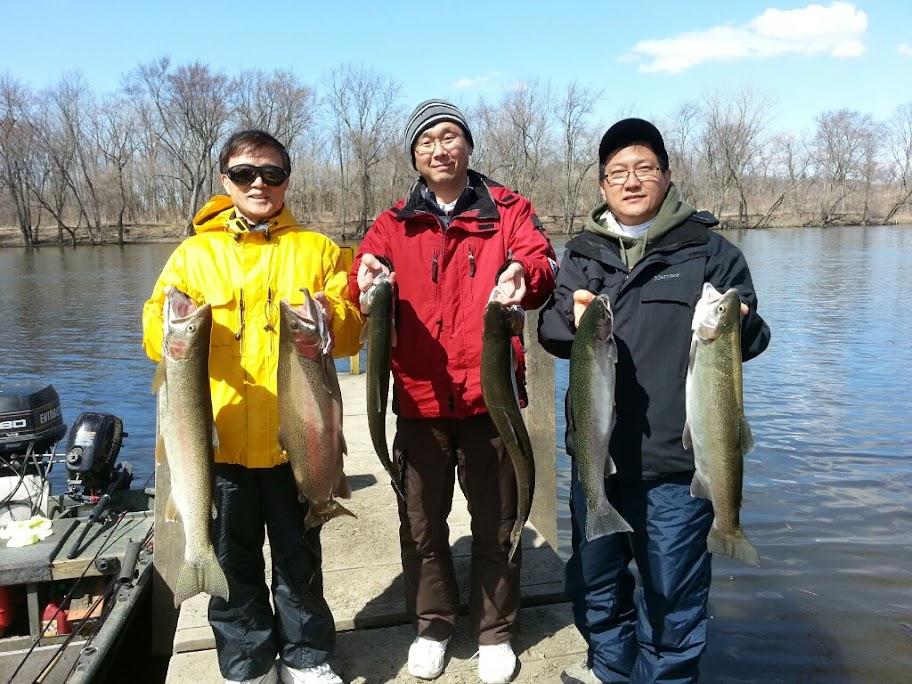 Michigan Steelhead Fishing Guide Service