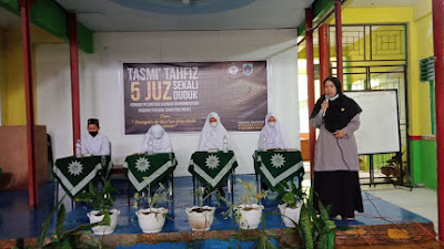 Ponpes Kauman Muhammadiyah Laksanakan Tasmi' Tahfizul Qur'an 5 Juz Sekali Duduk