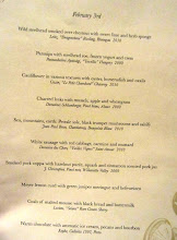 Photo: Castagna Chef's Tasting Menu for Feb 3rd, 2012