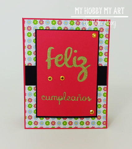 Latina Crafter, Latinas Arts and Craft, Blog Hop de Primavera, Ruthie Lopez 2