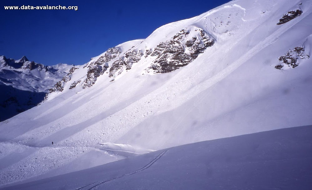 Avalanche Mont Thabor, secteur Punta Bagna, Face sud punta Bagna - Photo 1 - © Duclos Alain