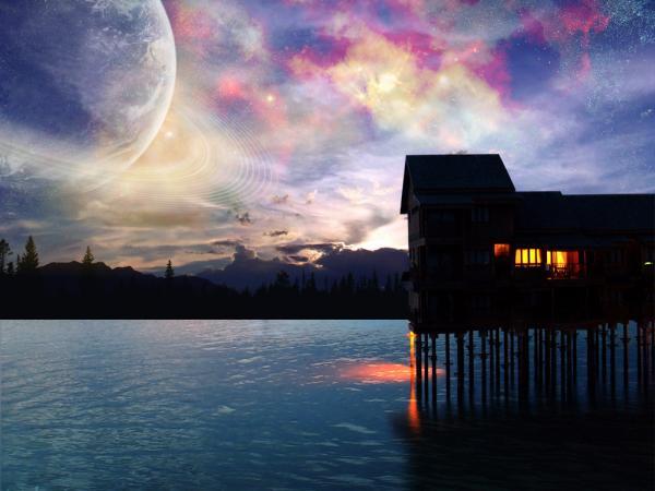 Weird Lands From Dream 15, Magical Landscapes 5