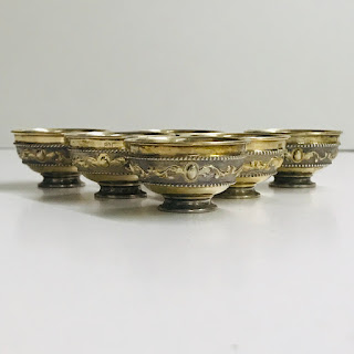 800 Silver & Vermeil Fitting Set