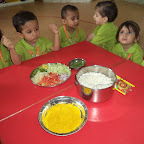 Healthy Bhel Making Activity WKSN (Playgroup) 31/08/2015