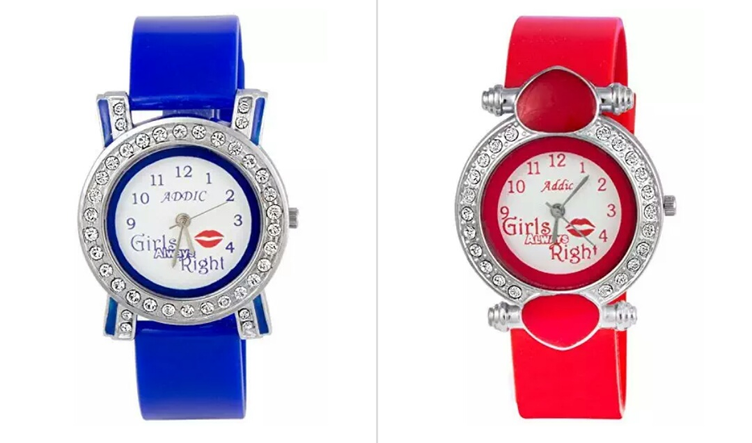 Amazon - Addic Adorable Girls Watches Starting From Rs.99 Only ...