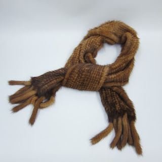 Mink Woven Scarf