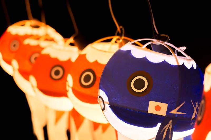 目黒雅叙園 和のあかり百段階段 柳井 金魚 ちょうちん 写真2