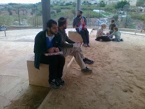 לימוד תורה בבית הכנסת נערן – Jericho Torah study in Naaran synagogue
