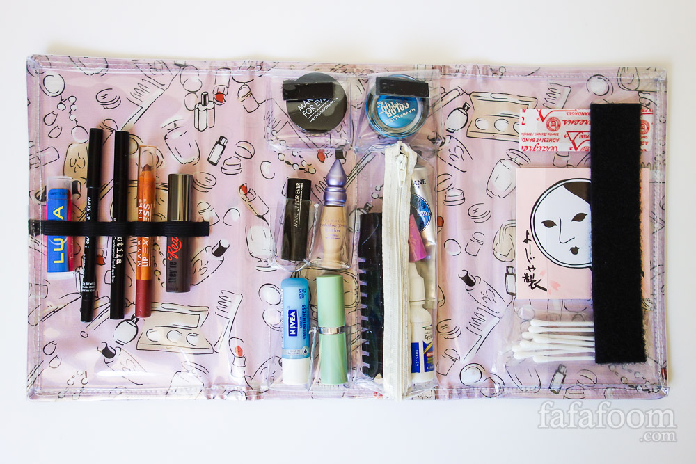 DIY Travel Makeup Case - DIY Fashion Accessories | fafafoom.com