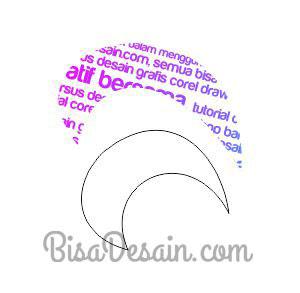 04. Membuat Tipografi Wajah dengan Corel Draw