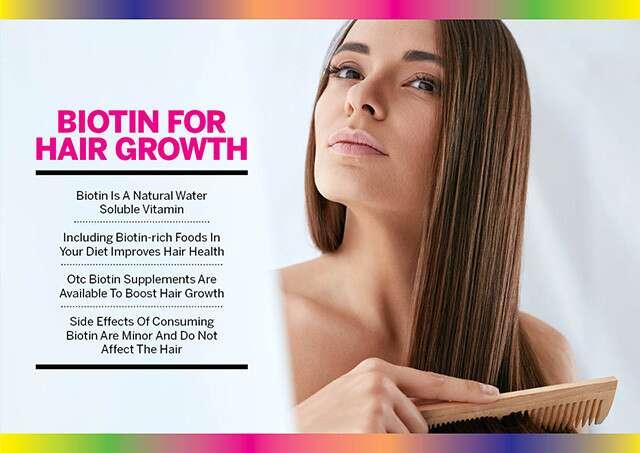 كيف يساعد البيوتين في نمو الشعر