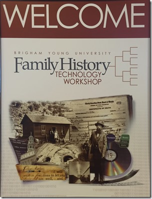 Welcome to the 2016 BYU Family History Technology Workshop