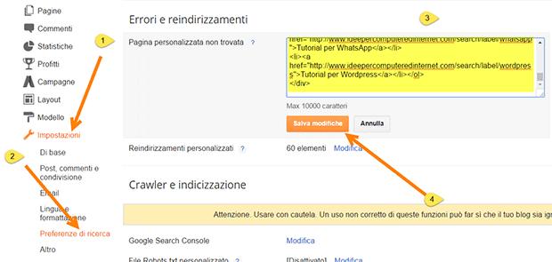 preferenze-ricerca-blogger-pagina-non-trovata