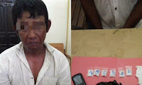 Polisi Sekadau Berasil Gagalkan Transaksi18,61 gram Sabu