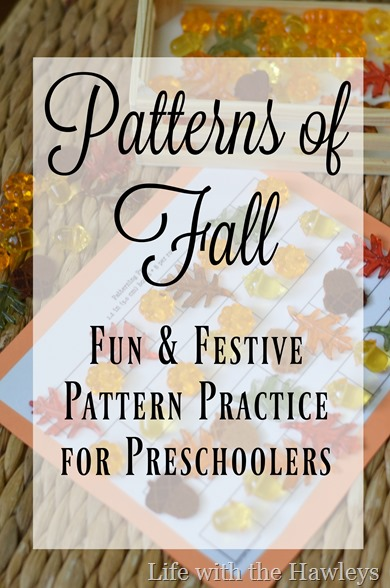 Fall Pattern Practice- Life with the Hawleys