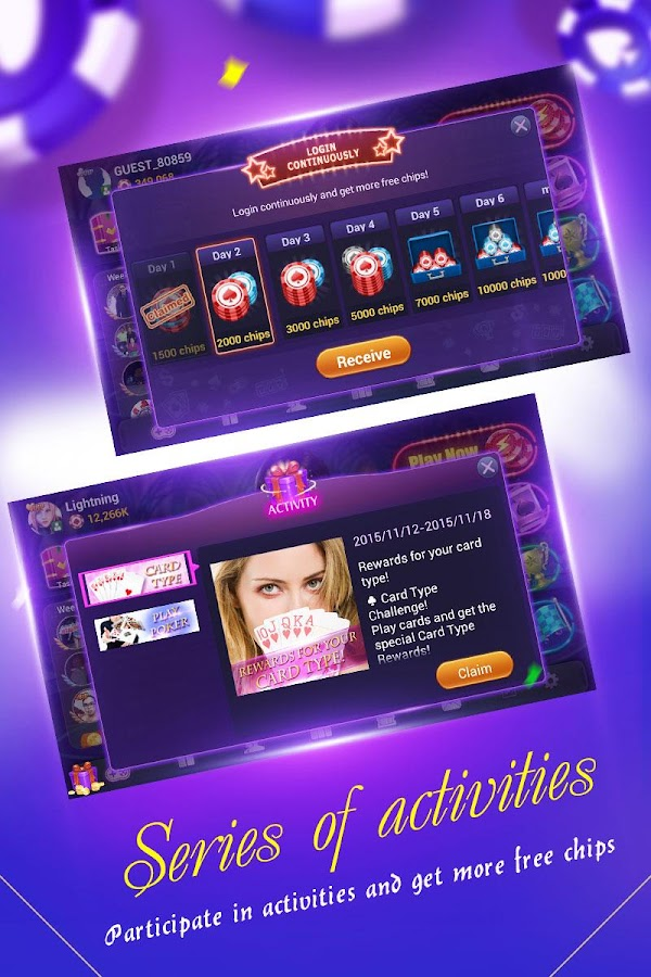 Boyaa Texas Poker- screenshot
