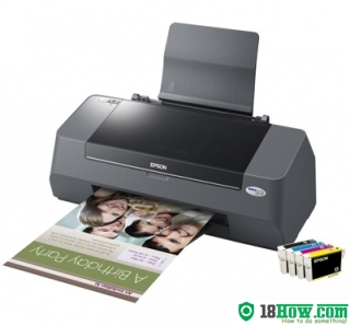 How to Reset Epson D92 lazer printer – Reset flashing lights error