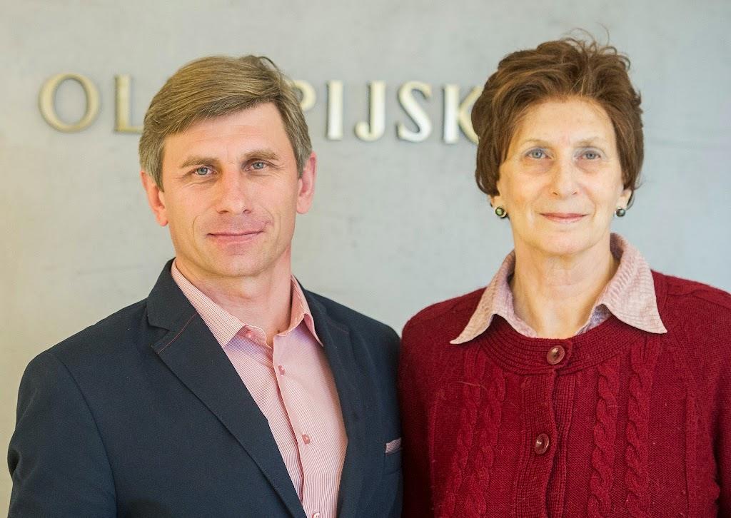 z Ireną Szewinską w Centrum Olimpijskim PKOL