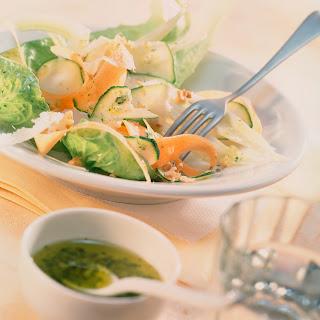 Möhren-Fenchel-Zucchini-Salat (Fitness-Salat)