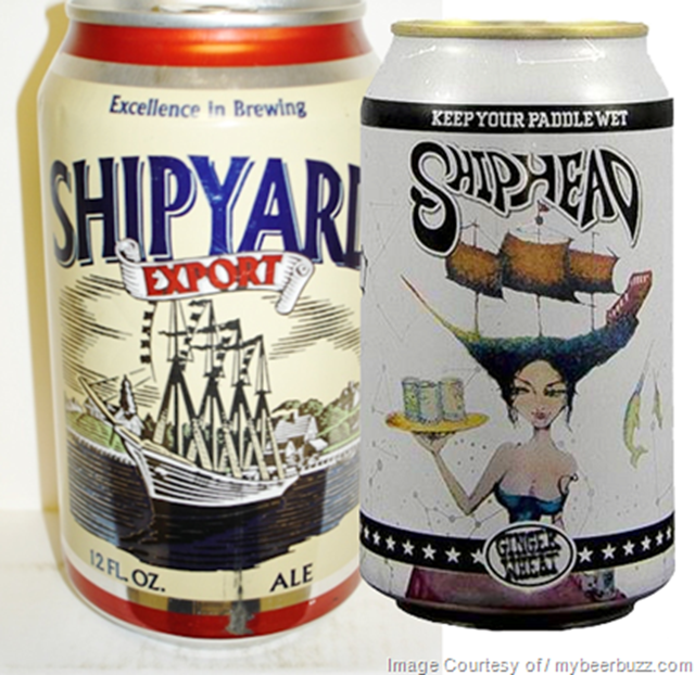 """Shipyard Brewing Loses """"Shiphead"""" Lawsuit With Logboat Brewing"""