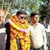 थाना प्रभारी रोहित दुबे का अशोकनगर के देहात-थाना में स्थानांतरण होने पर किया गया शानदार विदाई समारोह।