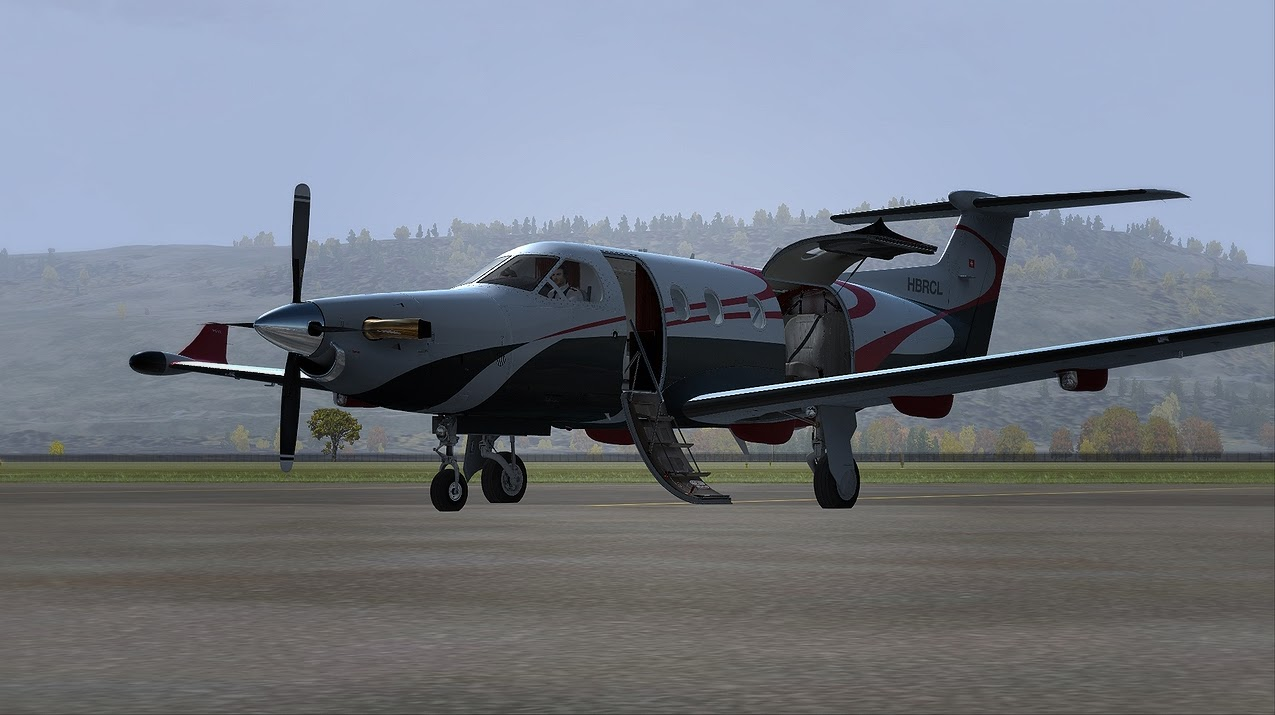 FSX Swiss Carenado Pilatus PC12