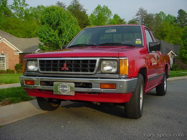 1991 Mitsubishi Mighty Max Pickup Extended Cab