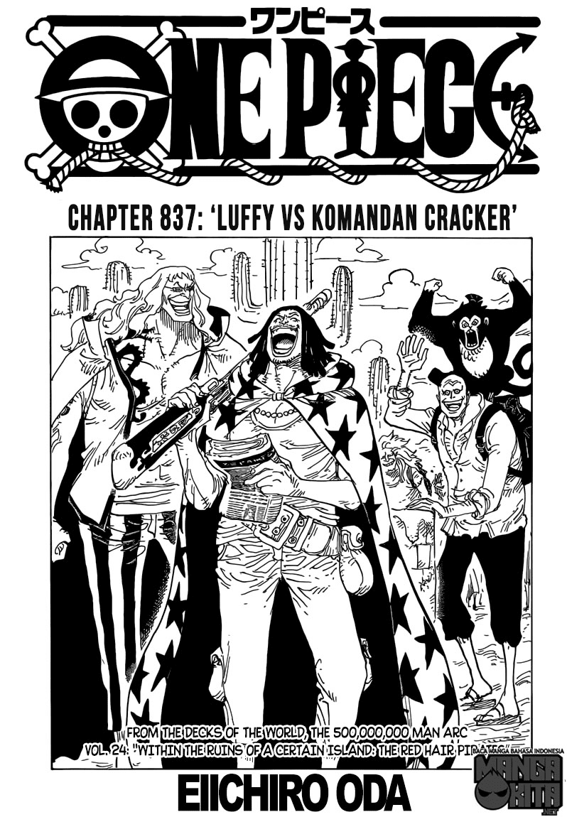 One Piece Chapter 837-1