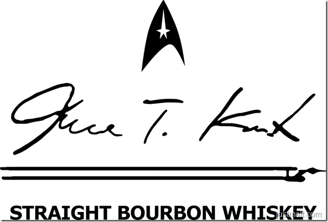 James T. Kirk Straight Bourbon Whiskey
