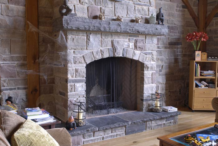 Well known Limestone Fireplaces MU16